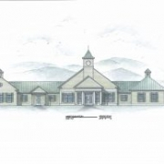 Stratton Mountain School drawing